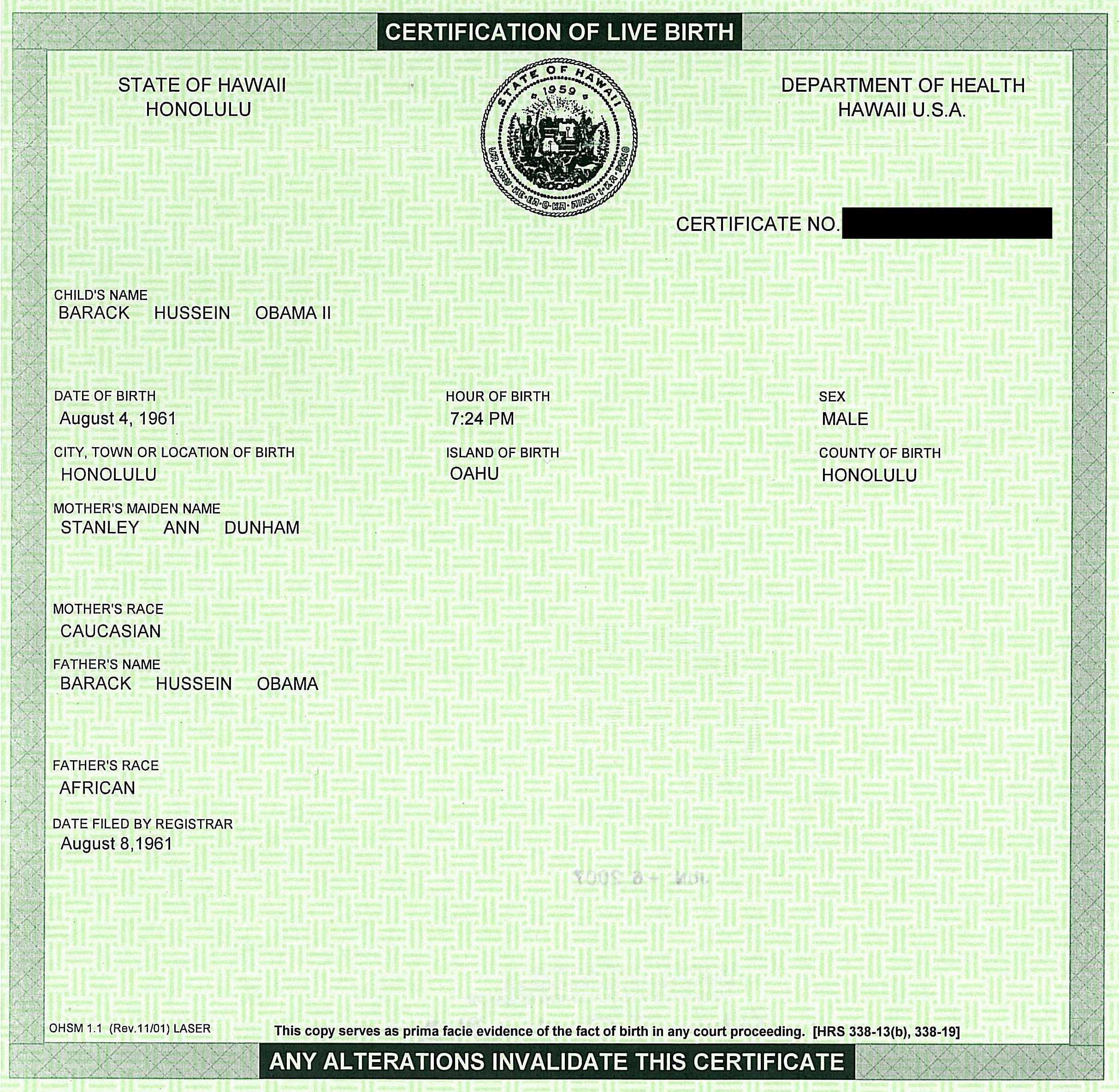 Obama birth certificate is fake created from multiple documents im aiddatafo Image collections