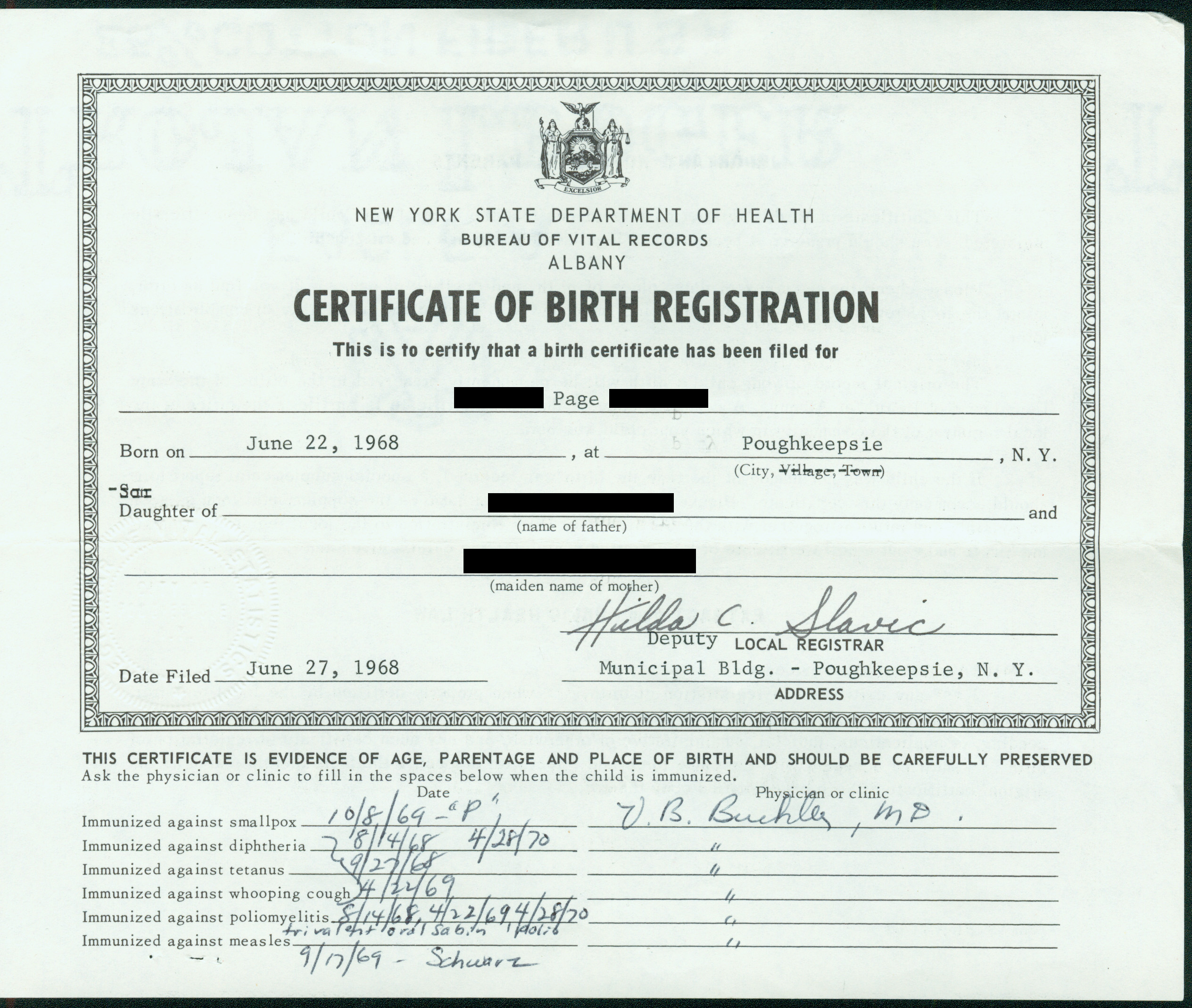 make a fake birth certificates